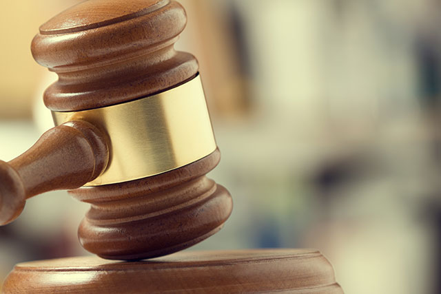Courtroom - gavel